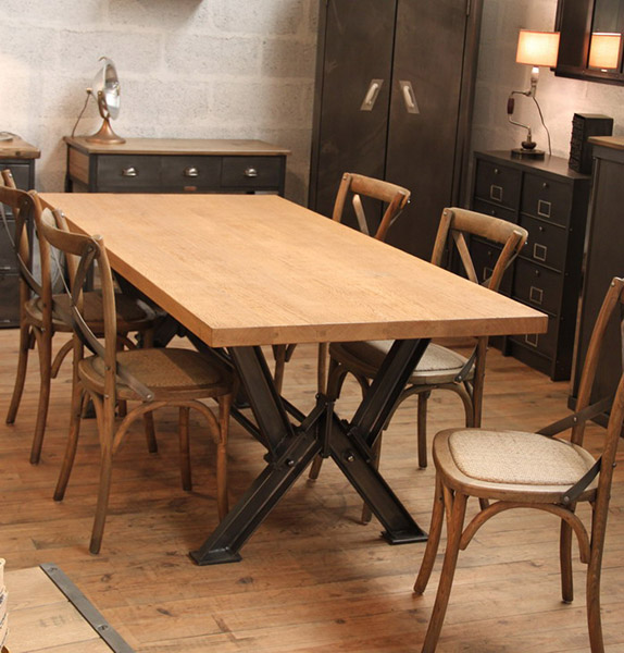 TABLE INDUSTRIELLE SUR MESURE